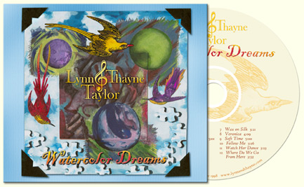 Buy CD: Watercolor Dreams, by Lynn and Thayne Taylor, Kauai, Hawaii